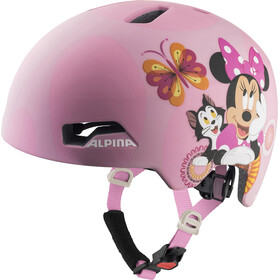 Alpina Hackney Disney Casque Enfant, Minnie Mouse